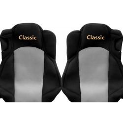 Veliūriniai sėdynių užvalkalai Classic, MERCEDES ACTROS MP 4 VENTILATED DRIVER'S & PASSENGER SEATS (01.2011-)