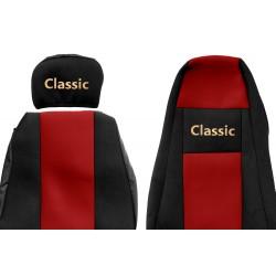 Veliūriniai sėdynių užvalkalai Classic, SCANIA R & G & P SERIES (prod. -9.2016)