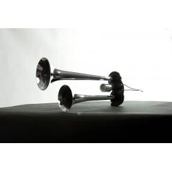 Sunkvežimio signalas OA0124V orinis dvigubas 38/30cm
