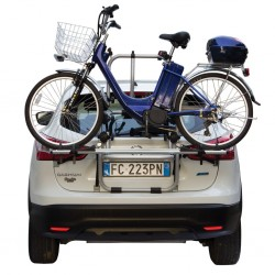 E-Bicycle rear carrier