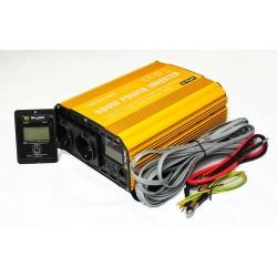 Inverteris Skyled 1500W su ESB sinus DC24V AC220V-240V 2261500242