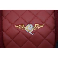 Sunkvežimio sėdynių užvalkalai DAF XF105 EURO 6 nuo 2013m. FX07 Elegance bordo