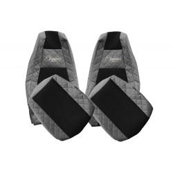 Sėdynių užvalkalai eko oda SCANIA R / S nuo 2017- standartinės sėdynės