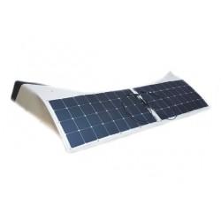 SKYLED 2x100W saulės baterijos SCANIA R sunkvežimiui