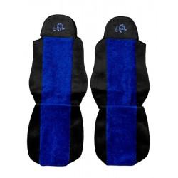 Sunkvežimio sėdynių užvalkalai DAF 95/105 CF LF -2012 Classic PS01mėlyni
