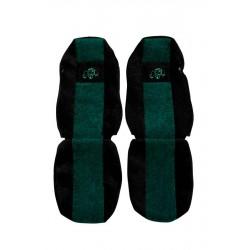 Sunkvežimio sėdynių užvalkalai MAN TGX žalia classic PS28