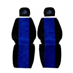 Sunkvežimio sėdynių užvalkalai Mercedes-Benz ACTROS ATEGO AXOR Mėlyni PS22