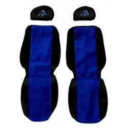 Sunkvežimio sėdynių užvalkalai Volvo FH FM FL classic mėlyna PS09